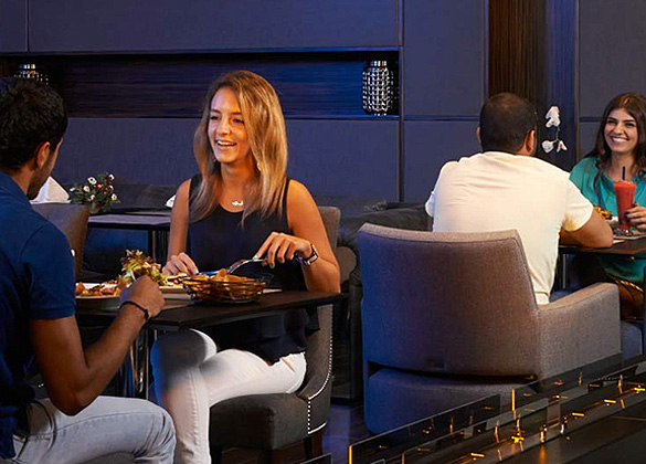 Restaurants at Monte Cassino Hotel in Jounieh, Lebanon