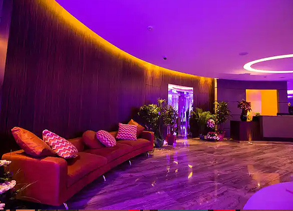 Monte Cassino Hotel Lobby Lounge in Jounieh, Lebanon